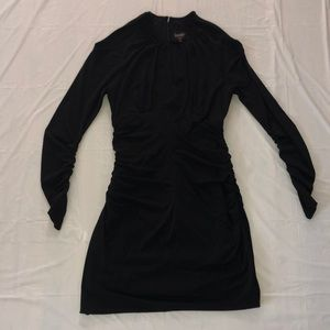 """Fitted Long Sleeve """"Laundry by Shelli Segal"""" Dress"""